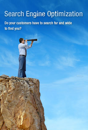 SEO : Do your customers have to search far and wide to find you?